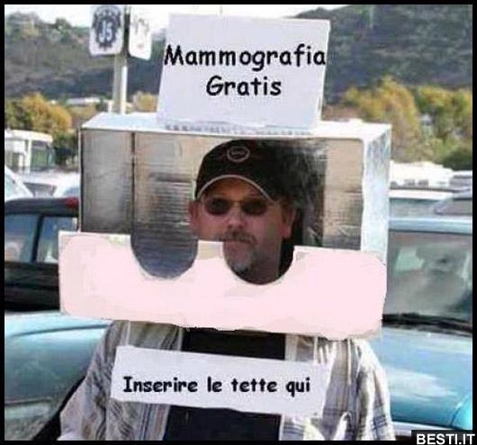 Amato Mammografia Gratis   BESTI.it - immagini divertenti, foto  AG68