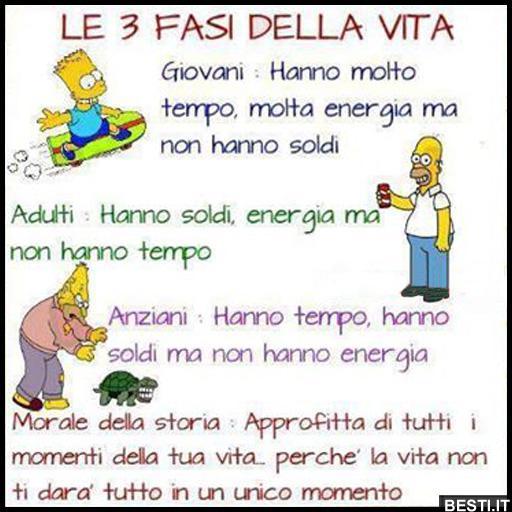 Le 3 Frasi Della Vita Besti It Immagini Divertenti Foto