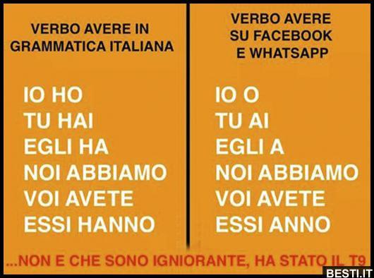 Amato Verbo | BESTI.it - immagini divertenti, foto, barzellette, video OS04