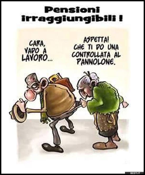 Pensioni immagini divertenti foto for Vignette simpatiche buongiorno
