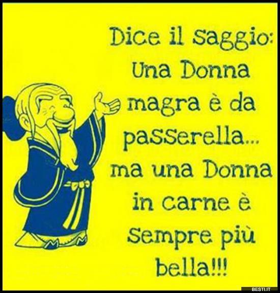 Super Una Donna magra | BESTI.it - immagini divertenti, foto  LI61