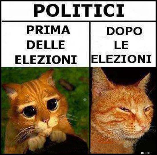 Politici prima e dopo immagini divertenti for Politici di destra nomi