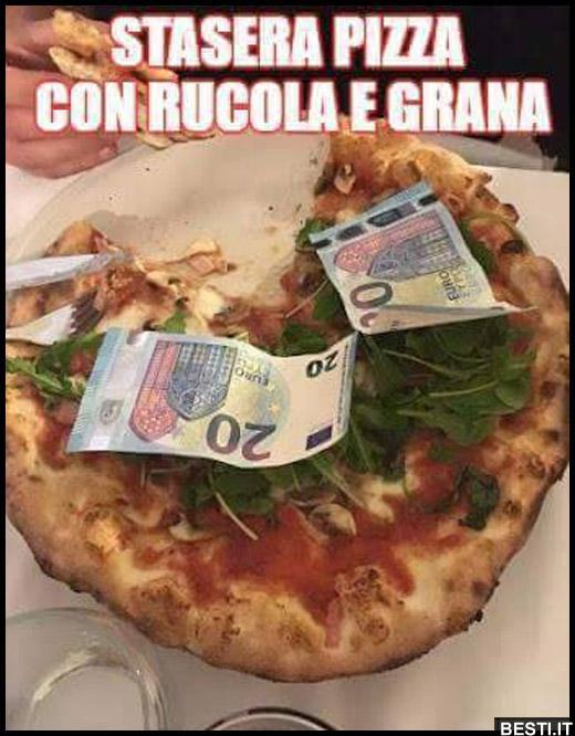 Stasera pizza. » «