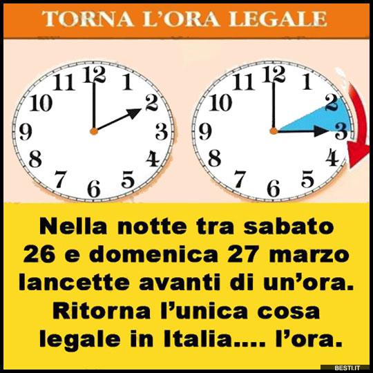 Torna L Ora Legale Besti It Immagini Divertenti Foto
