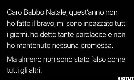 Lettera A Babbo Natale Divertente.Caro Babbo Natale Besti It Immagini Divertenti Foto