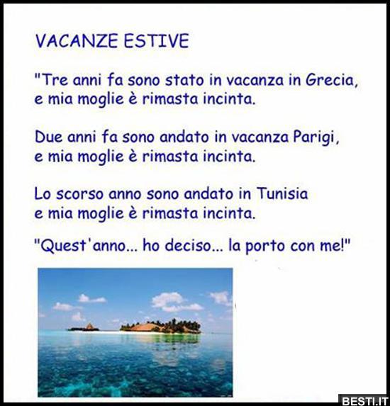 Vacanze estive immagini divertenti foto for Vacanze immagini