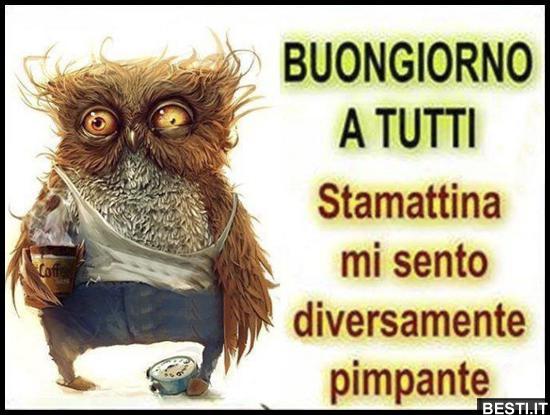 Buongiorno a tutti immagini divertenti foto for Foto immagini buongiorno